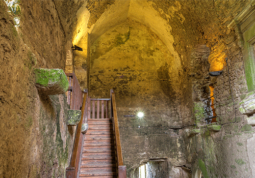 Interior View of the Castle