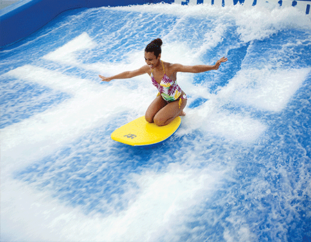 Welcome Back Cruise Flowrider