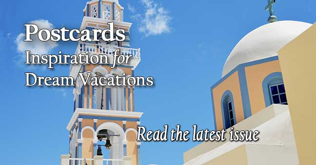 Postcards Travel Brochures & Ezines